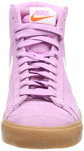 Nike Blazer Mid '77, Zapatillas Deportivas Mujer, Beyond Pink White Gum Med Brown, 41 EU