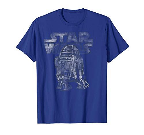 Star Wars R2-D2 Vintage Style Graphic T-Shirt C2 T-Shirt