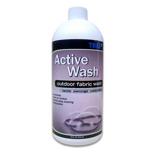 Trek7 Active Wash Fabric Cleaner for Outdoor Fabrics, 32 Oz