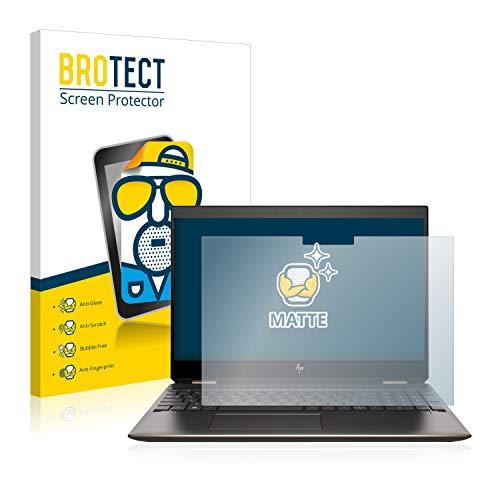 BROTECT Entspiegelungs-Schutzfolie kompatibel mit HP Spectre x360 15-df1330ng Bildschirmschutz-Folie Matt, Anti-Reflex, Anti-Fingerprint