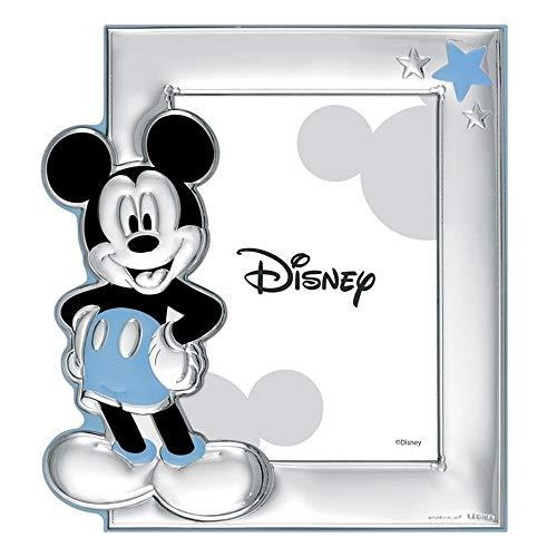 Cadre Photo Portafotos Plata Loi Sur 925M Disney Photo 9X13Cm. Mickey [Ac0891]