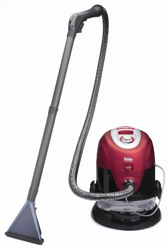 Fakir 4470003 - Aspiradora en seco y húmedo, color: rojo/negro