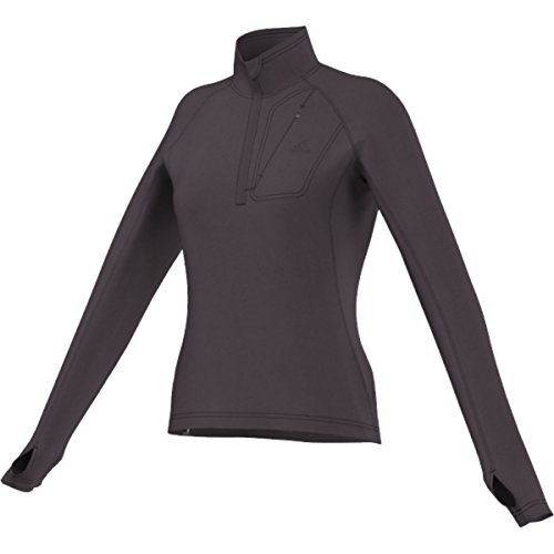 adidas Outdoor Women's Hiking Reachout Fleece Jacket, Mineral Red, X-Small