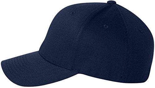 Flexfit Silver Wooly Casquette de baseball extensible peignée - Bleu - L/XL