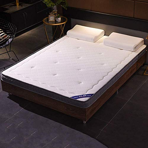 TTFFWW Memory Foam Mattress, Breathable Sleep Comfortable Mattres Soft Bed Durable Thicken Daybed Mattress Medium Firm Feel Easy Set-Up (Color : C, Size : Queen-150x200cm)