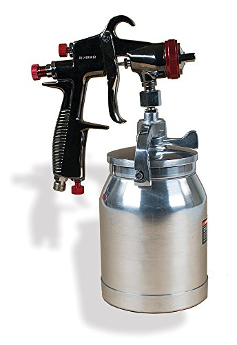 AEROPRO USA R200S LVLP Suction Feed Air Spray Gun, 1.5 mm...