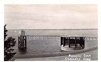 Kingsley Dam Ogallala, Nebraska postcard