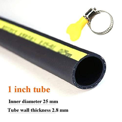 Manguera de jardín 25 mm Diámetro Interior Grueso Resistente al Desgaste, Prueba de Fugas y congelar a Prueba de Tubo de Goma de Secado (Tamaño: 30M) DYWFN (Size : 10M)