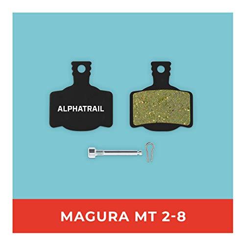 Pastillas de Freno Magura MT-2 MT-4 MT-S MT-6 MT-8 Tipo 7 para Freno de Disco de Bicicleta. Alta Potencia de Freno. Pastillas de Freno duraderas y Ajustables.