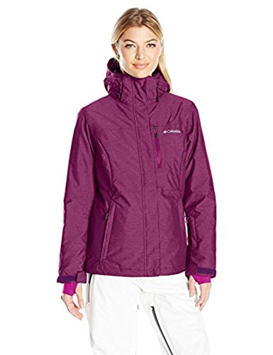 Columbia Mujer Alpine Action Oh Jacket, otoño/Invierno, Mujer, Color Dunkle Himbeere, tamaño Medium