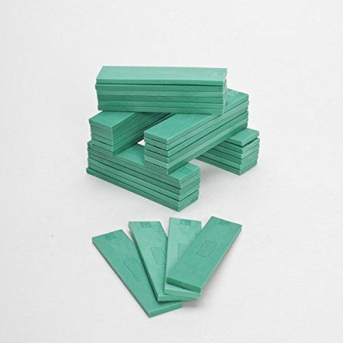 ToniTec 100x Verglasungsklötze Kunststoff Unterleger Glasklötze 100x24 5mm