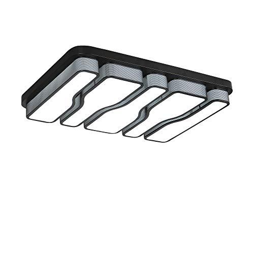 COOSNUG LED Deckenleuchte 78W Kaltweiß Deckenlampe Quadrat Energiespar Wohnzimmer Schlafzimmer Korridor Acryl-Schirm Rahmen Flur Lampe Küche Energie Sparen Licht Modern Design Wandleucht Lampe
