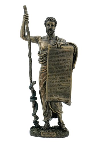 Hippocrates Bronze Statue