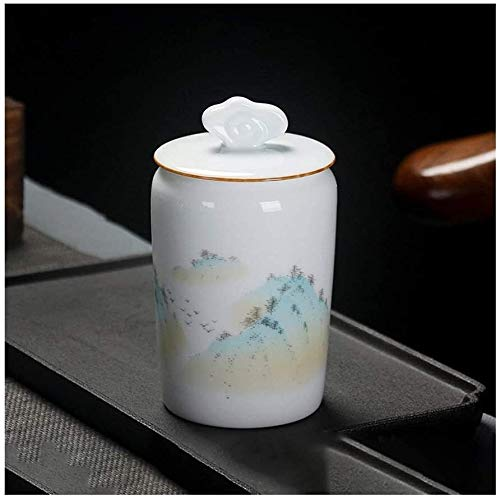 Pet Cremation Urn for Ashes Funeral Urn For Adult&Pet Ashes, Human Small Memorial Urns, Handmade Ceramics Keepsake, Burial Urn At Home Or Cemetery, Dog, Cat Garden Urns for Ashes TQZHENG (Color : D)