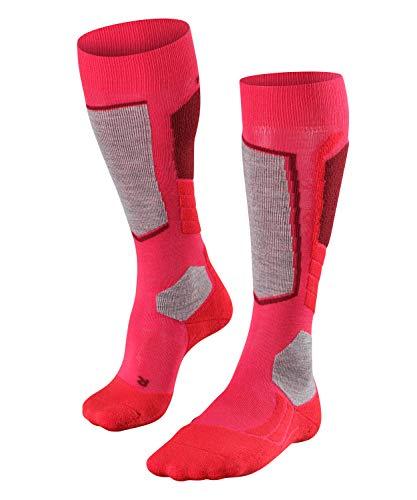 FALKE Damen Skisocken SK2, Knielange Skistrümpfe mit Merinowolle, 1 er Pack, viele Farben