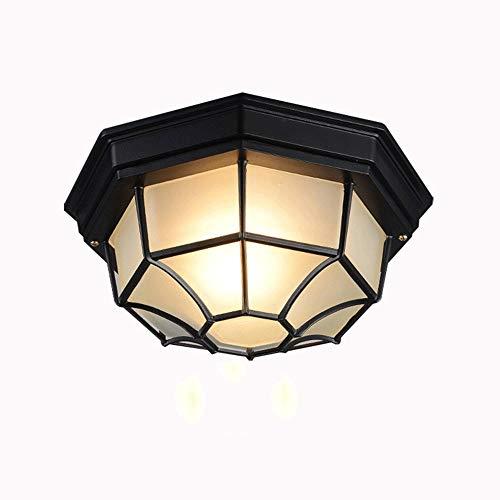YWSZJ Lámpara de Techo empotrada en Jaula de Metal, Acabado en Bronce frotado con Aceite, Accesorio de iluminación de Techo for Dormitorio, Comedor, Sala de Estar,