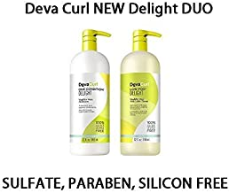 Deva Curl Delight Low-Poo and One-Condition Duo, 32 Ounce