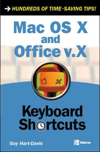 Mac OS X and Office v.X (Keyboard Shortcuts)