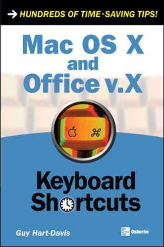 Mac OS X and Office v.X (Keyboard Shortcuts)