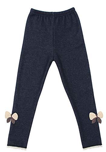 DEMU Panty voor kleine kinderen en meisjes, stretch leggings, vrijetijdsbroek, warm gevoerd