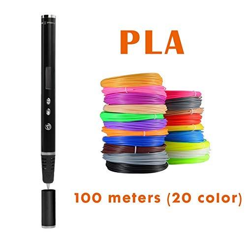 HUAHUA Pluma De ImpresióN 3D Bolígrafo 3D el bolígrafo de impresión 3D...