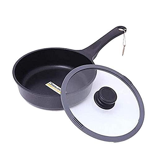 Potnic Bag Pot Cocinar Potes PANTERAS FORJAS ALUMINIO ANTERIOR ANTERIOR WOK, Freidor Seco Saludable, Cocina Universal Universal, COLECCIÓN DE MÁRMOL DE WOK, PANTES DE FRYE