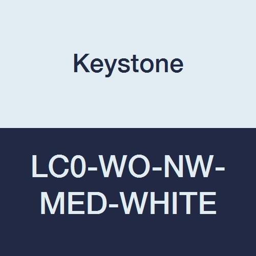 Super sale Keystone LC0-WO-NW-MED-WHITE Polypropylene Lab Financial sales sale Pocket No Coat