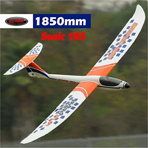 DYNAM RC Airplane Sonic 185 Glider 1850mm Wingspan - PNP
