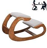 DBMGB Kniestuhl Ergonomisch Kniehocker Kniestuhl Büro Hocker für zu Hause und im Büro Sitzhocker Bürohocker Zur Verringerung von Starken Rücken- und Nackenschmerzen