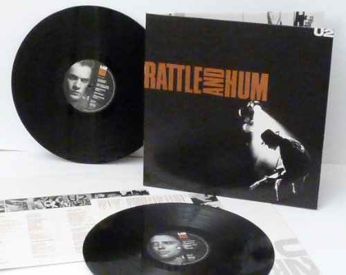 U2, rattle and hum. 2 album set, First UK pressing. 1988