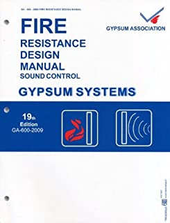 Fire Resistance Design Manual Sound Control 19th Ed. (GA-600-2009)