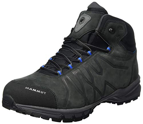 Mammut Mercury Iii Mid Gtx, Men's Trail Running Shoe, Black-Dark Gentian, 12.5 UK ( EU)