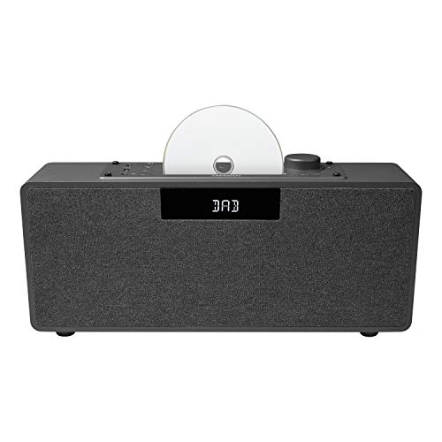 MEDION P64934 Kompaktanlage Micro Audio System (DAB+, Bluetooth, CD-Player, UKW Radio, USB, AUX, LCD Display mit Hintergrundbeleuchtung)