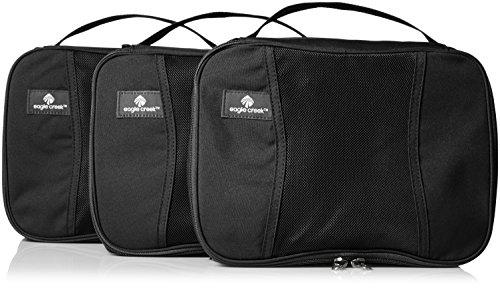 Eagle Creek Pack-It Half Cube Packing Set, Black, Set of 3