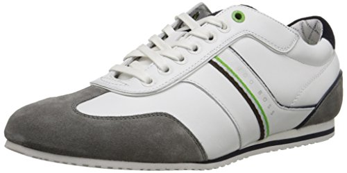 Hugo Boss BOSS Green by Herren Victoire Fiction Fashion Sneaker, (Weiß), 47 EU