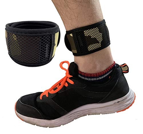 KOSTOO - Cinturino da Polso per Braccio e Caviglia, con Tasca in Rete per Fitness Tracker Fitbit One/Flex 2/Alta/Alta HR/Zip/Charge 2/3/4/ JR, 11inch