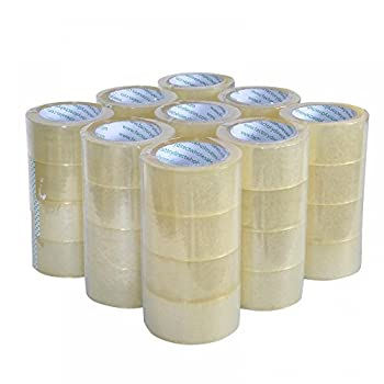 Rolls Box Carton Sealing Packing Packaging Tape 2 x110 Yards 330  ft  Clear