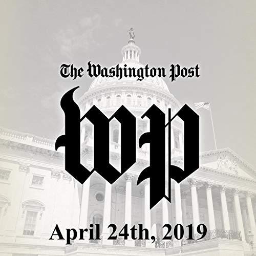April 24, 2019 audiobook cover art