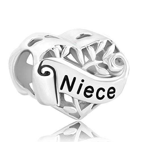 Poetic Charms Baum Des Lebens Familie Charm Meine Frau/Mama/Schwester/Daughter/Ante/Nichte/Oma Hohl für europäische Armbänder
