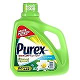 Purex 01134 Linen & Lilies Natural He Elements Liquid Detergent, 150 oz