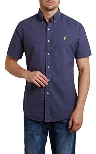 Ralph Lauren Herren Freizeit-Hemd, Navy (Navy, S)