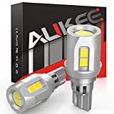 Aukee 921 LED Bulb 6000K White 912 T15 906 W16W 10-SMD 2835 Chips for Back Up Reverse Light (Pack of 2)