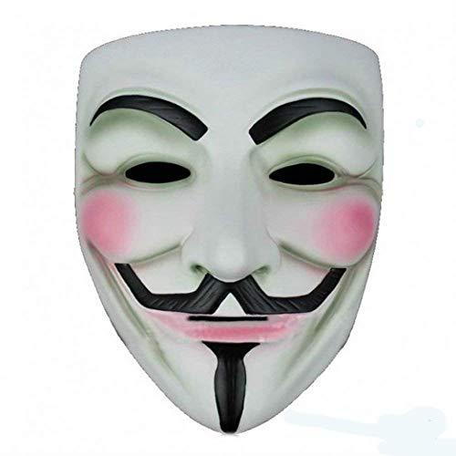 Komonee V para Venganza Adulta Disfraz de Halloween Mscara (Pack of 2) (HM24)