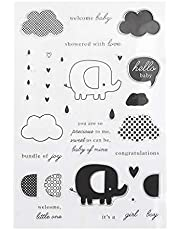 HDBD Cloud Silicone DIY Clear Stamps Scrapbooking for Photo Album Paper Card Crafts Decor