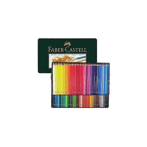 Faber Castell Polychromos - Lápices de colores (caja de madera, 72 ...