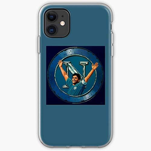 TIINTEXBA Compatible with iPhone 12/12 PRO Max 12 Mini 11 PRO Max SE X XS Max XR 8 7 6 6s Plus Case Sport Naples Maradona Football Napoli Club Sports Diego SSC Phone Cases Cover