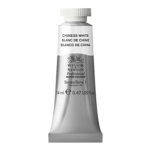 Winsor & Newton Professional Water Colour Paint, 14ml tube, Chinese White