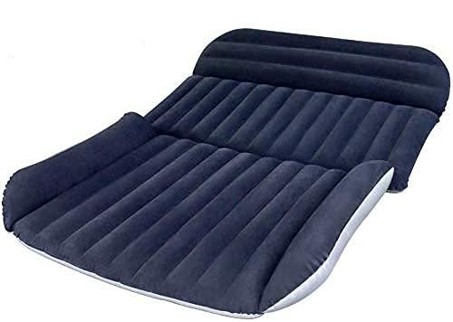 MEITAN 車中泊ベッド SUV車用ベッド エアーベッド 後部座席用 車用エアーベッド アウトドア キャンプ用品 ベッドキット ドラウブマットレス MT-BS006 (ネービー)