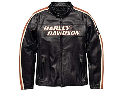 HARLEY-DAVIDSON Lederjacke Torque, XL