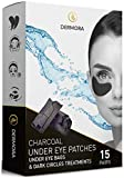 Charcoal Under Eye Patches – 15 Pairs - Puffy Eyes & Dark Circles Treatments – Look less Tired and Reduce Wrinkles and Fine Lines Undereye, Revitalize and Refresh Your Skin - Cruelty Free & Vegan.